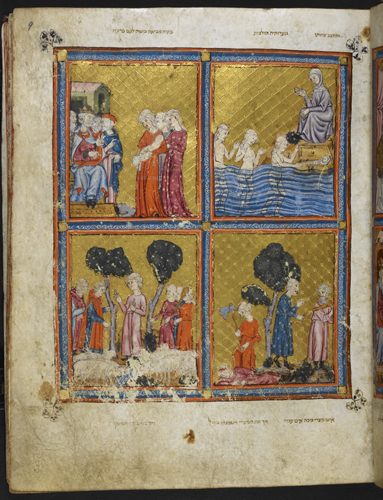 Scenes from the life of Moses