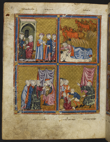 Scenes from the life of Joseph