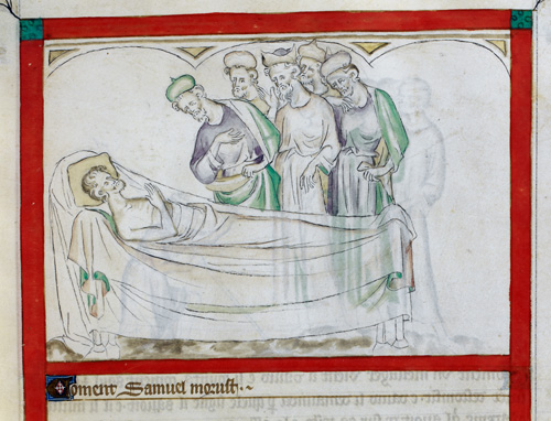 Death of Samuel
