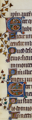 Decorated initials