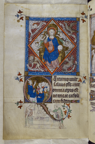 Christ in Majesty and Thomas Becket
