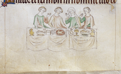 Four at table
