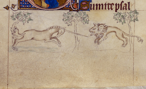 Unicorn and Lion