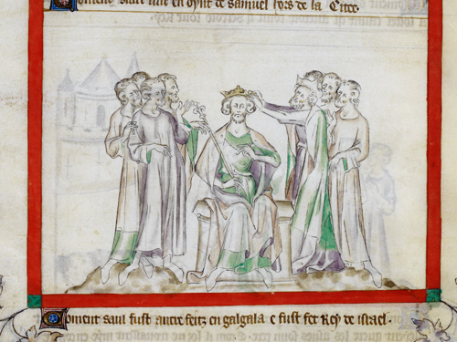 Coronation of Saul