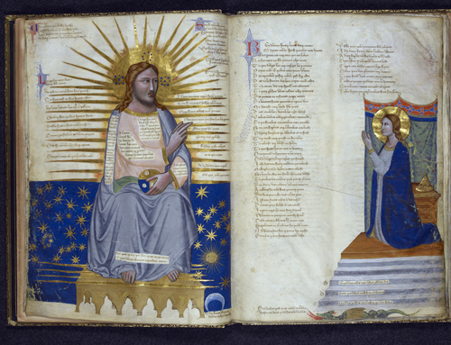 Christ and the Virgin