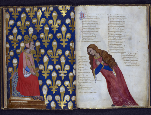 Robert of Anjou; personification of Italy