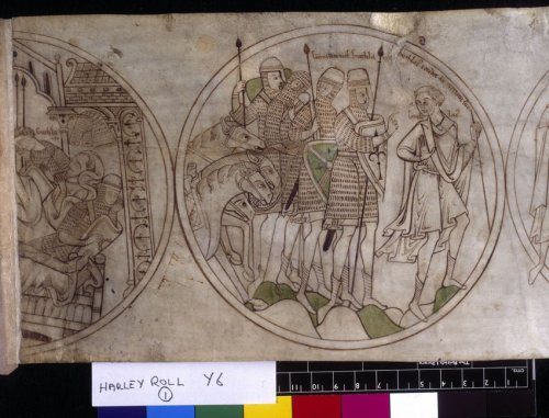 Guthlac in contemplation