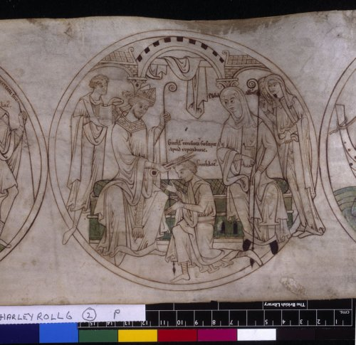 Guthlac is tonsured