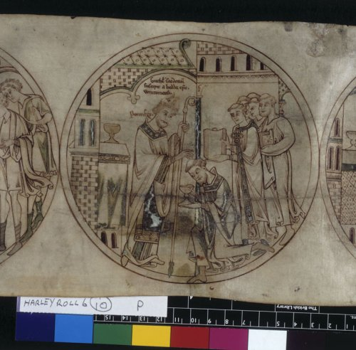 Guthlac is ordained