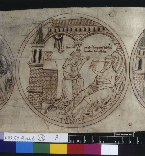 Guthlac speaks to Beccelm