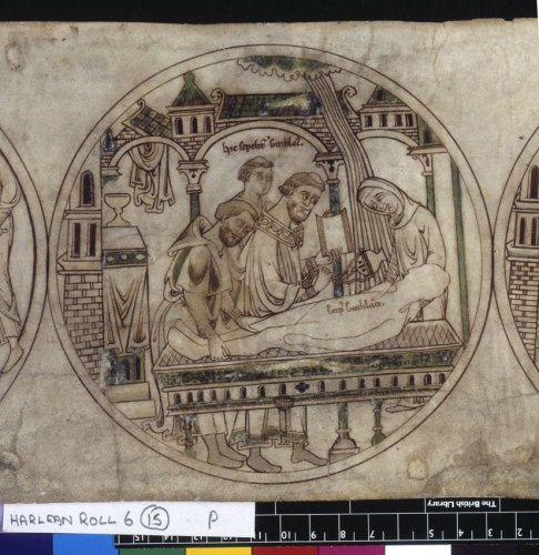 Burial of Guthlac