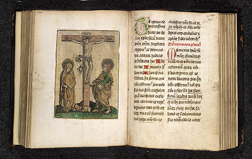 Crucifixion and Puzzle initial