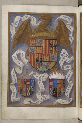 Arms of Queen Isabella