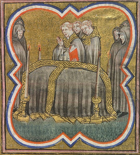 Burial of the dead