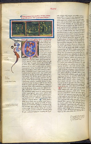 Miniature and initial