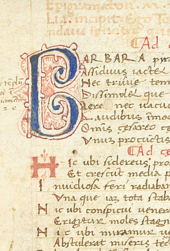 Detail: Decorated initial