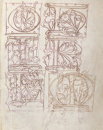 Designs for initials