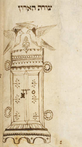 Ark of the Covenant with the cherubim
