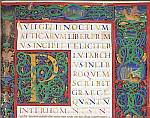 Decorated initial and border