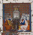 Apostles composing the creed