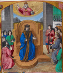 A prince enthroned
