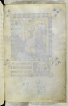 Blank folio f.233, miniature on verso.