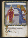 Angel crowning a pope