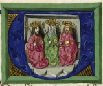 Three kings seated