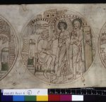 Angel visits Guthlac