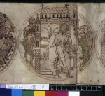 Guthlac overcomes the demons