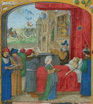 Detail of a miniature.