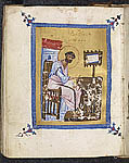 Miniature of Mark and illuminated headpiece and initial at ...
