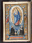 Virgin and Child with the grantee