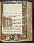 Historiated initial and full border