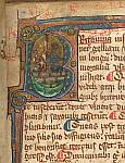 Detail: Historiated initial