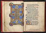 Beatus page and initial