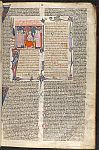 Emperor Justinian, initial and border