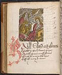 Annunciation and initial