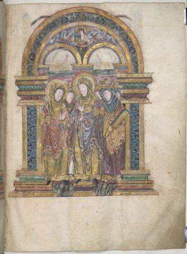 Aethelreda and Mary Magdalene