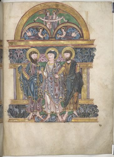 Peter and two Apostles