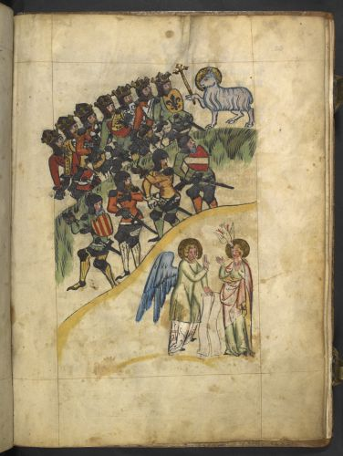 Kings, soldiers and the Lamb; the angel