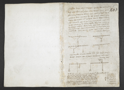 f. 1, displayed as an open bifolium with f. 14v: diagram
