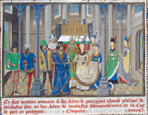 Philippa of Lancaster and John of Portugal