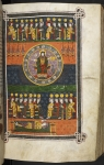 Vision of God before the opening of the Seven Seals