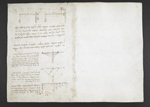 f. 14, displayed as an open bifolium with f. 1v: blank page
