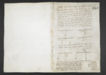 f. 14v, displayed as an open bifolium with f. 1: blank page