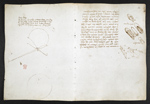 f. 54, displayed as an open bifolium with f. 49v: sketches