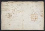 f. 70v, displayed as an open bifolium with f. 71: diagrams