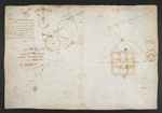 f. 71, displayed as an open bifolium with f. 70v: diagrams and sketches