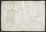 f. 106, displayed as an open bifolium with f. 105v: diagrams